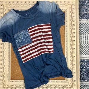 Lucky Brand | Knit Bandana Ombré T
